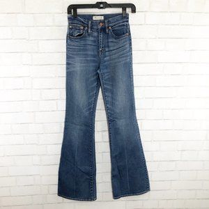 Madewell Flea Market Flare High Rise Jeans Size 24